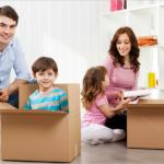Déménagement : pas toujours facile avec des enfants