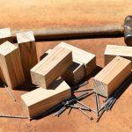 Outils et matériaux pour installer une cloison de chambre