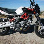 La aprilia shiver 750: une moto très appréciée