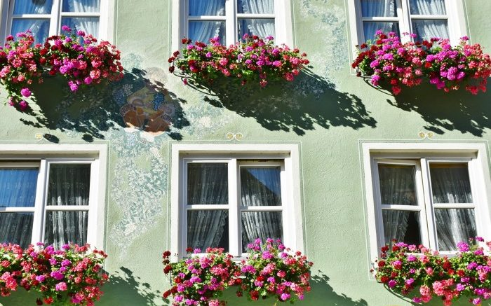 jardinière suspendu fenêtre