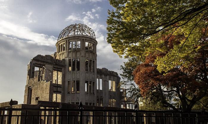 Dome à Hiroshima au Japon