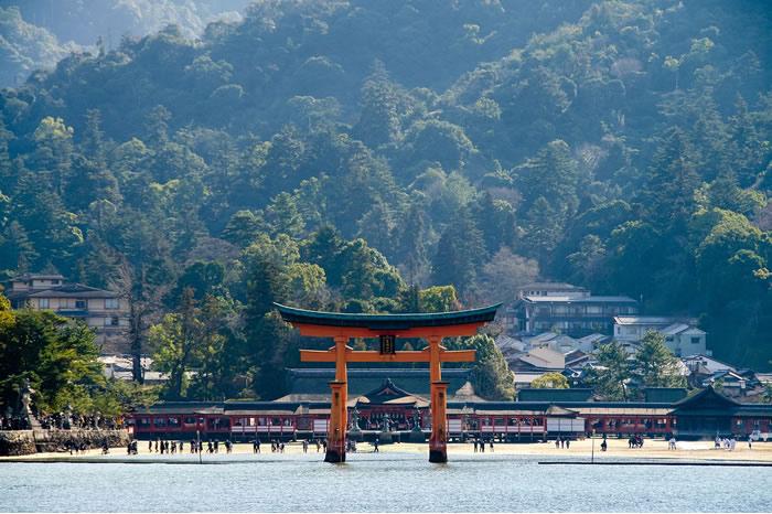 Miyajima O-Torii au Japon