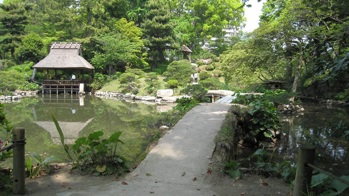 Shukkei-En au Japon