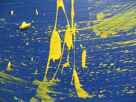 Une peinture