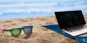 destination pour freelance plage