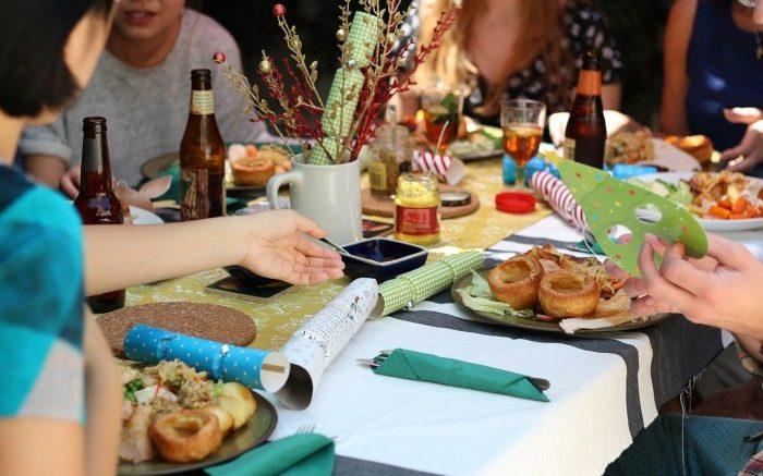 dîner entre amis
