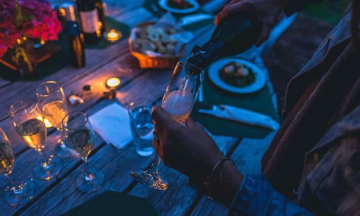 Boisson alcoolisée soirée famille