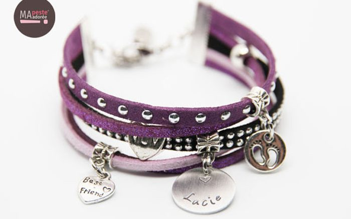 bracelet-personnalise-medaille