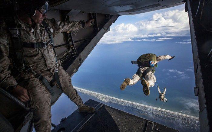 saut parachute