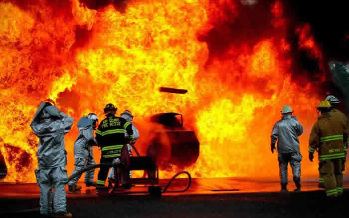 Incendie pompier