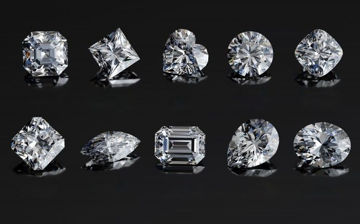 differentes taille diament
